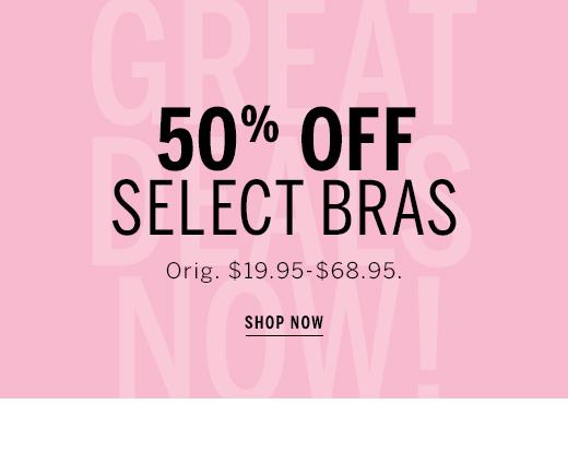 50% Off bra