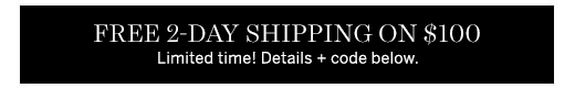 Free 2-day shipping on 100