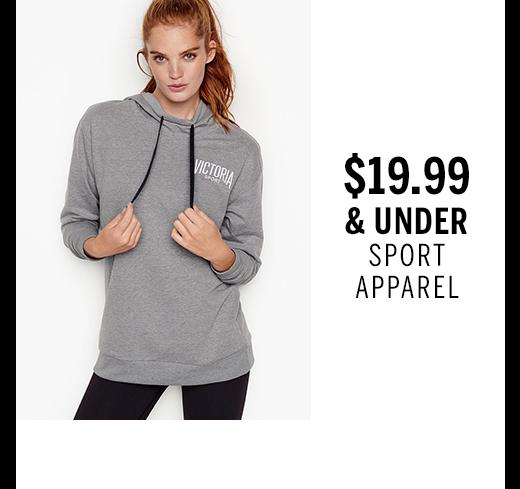 $19.99 & under Sport Apparel