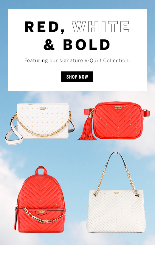 Red, white and Bold V-Quilt Collection Shop Now