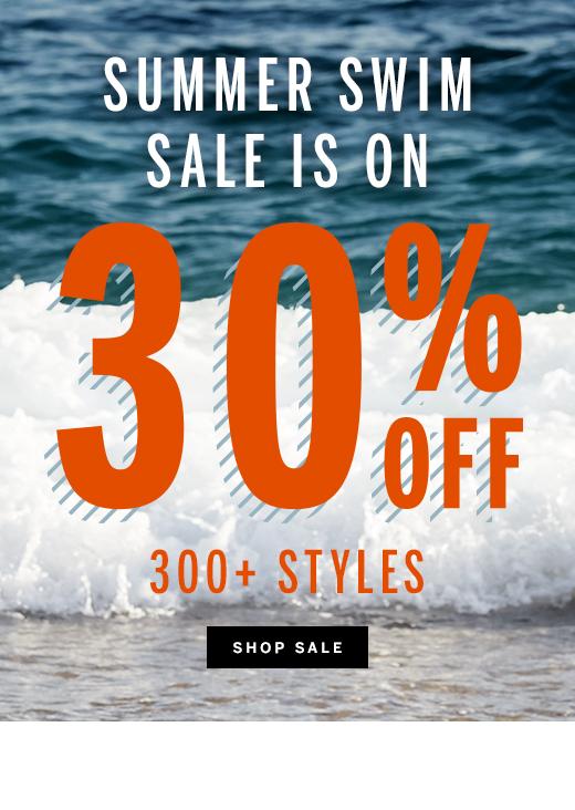30% off Swim Sale