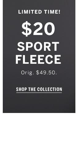 $20 Sport fleece