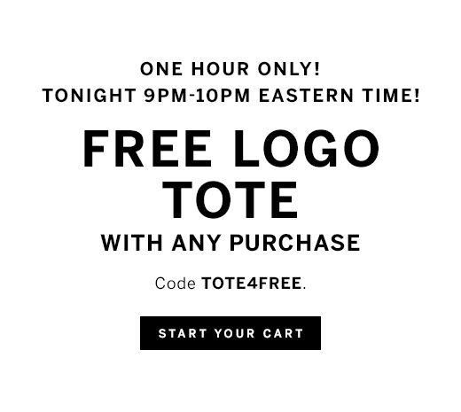 Free Tote With $75 Purchase And Free Planket With $150 Purchase