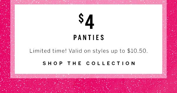 $4 Panties