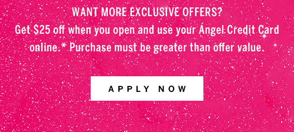 Want More apply now