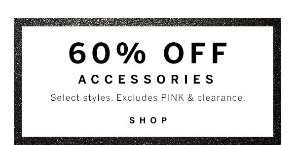 60% OFF Accessories