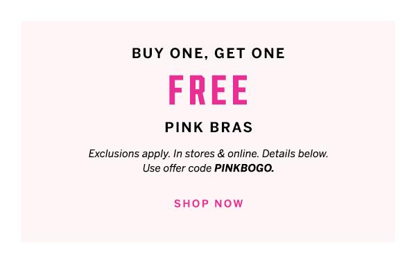 BOGO Free Bras: Buy One, Get One