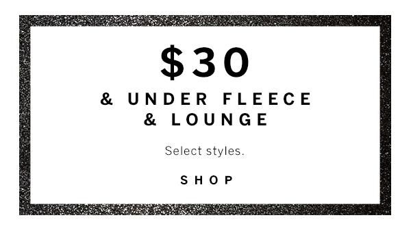 $30 & Under