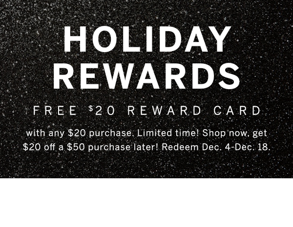 Holiday Rewards