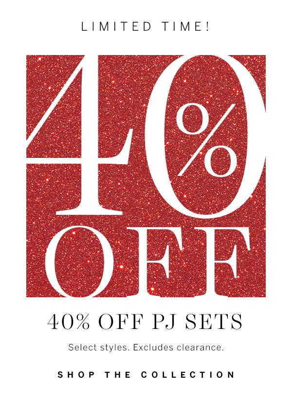 40% PJ Sets