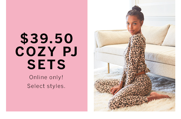 $39.50 Cozy PJ Sets