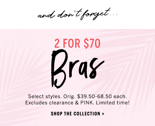 SO MUCH YES: bra faves now $35 each!